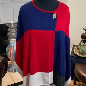 Color blocks cape by Marc New York🌹